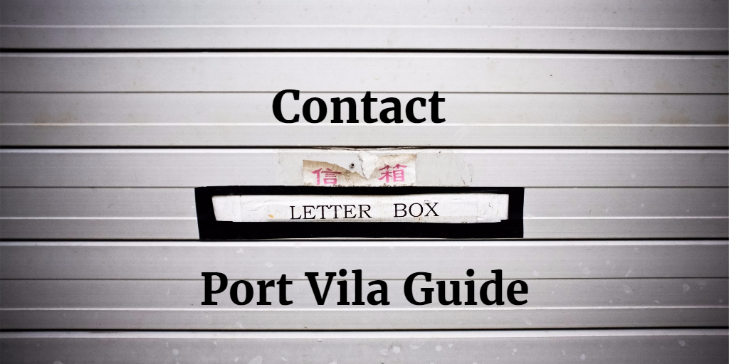 contact port vila guide email port vila guide facebook
